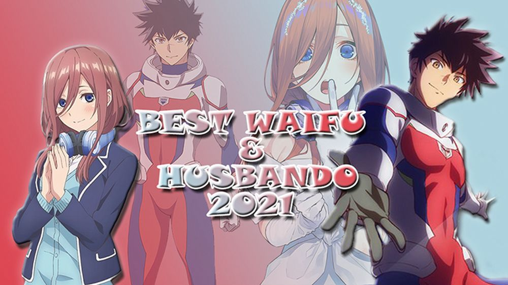 Best Waifu e Husbando 2021
