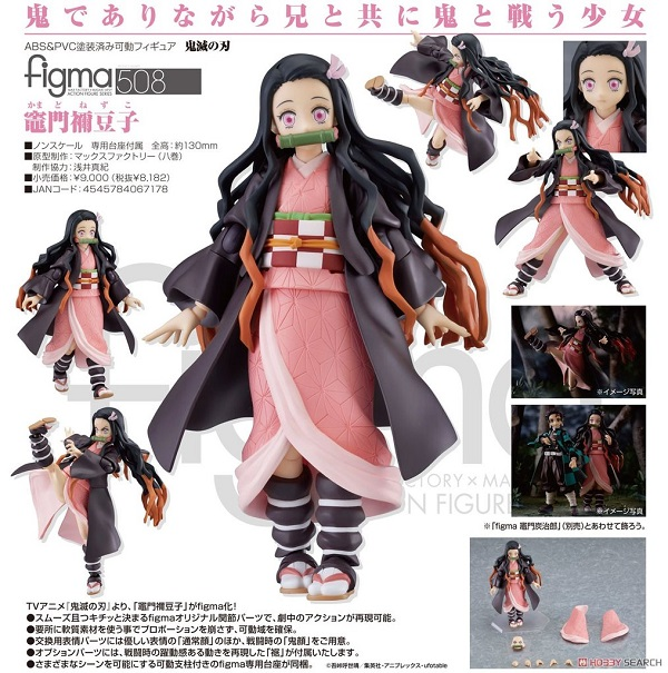 figma Nezuko Kamado di Demon Slayer