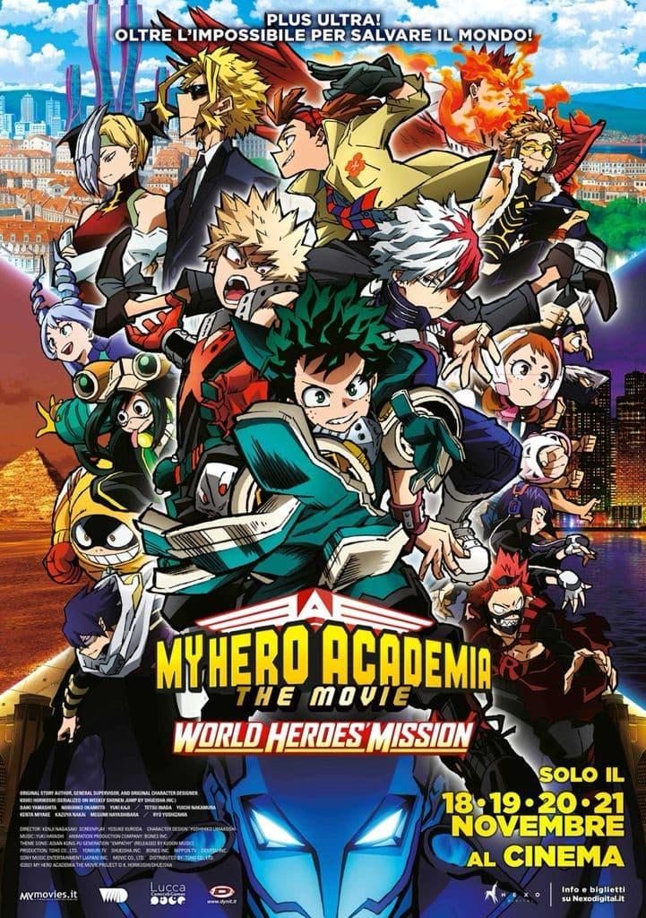 My Hero Academia the Movie 3: World Heroes' Mission