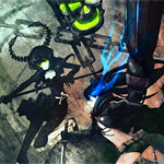 Black★Rock Shooter, preview per l'anime di Hatsune Miku