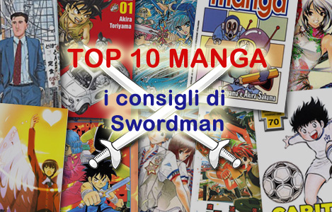 <b>AnimeClick.it Top 10 Manga</b>: I consigli di Swordman