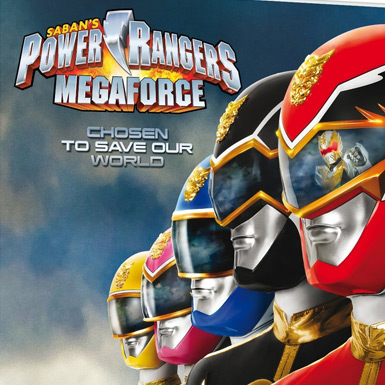 Power Ranger Megaforce per 3DS: trailer e immagini