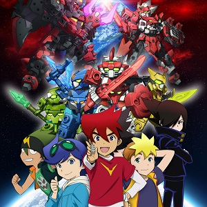 Aprile in anime: Tenkai Knights, Duel Masters Versus, Gigant Shooter