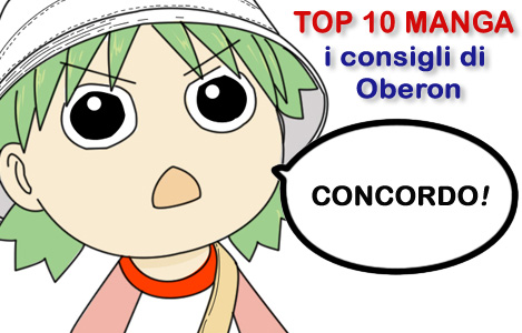 <b>AnimeClick.it Top 10 Manga</b>: I consigli di Oberon