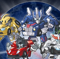 Q Transformers anime TV per lo storico game Mystery of Convoy