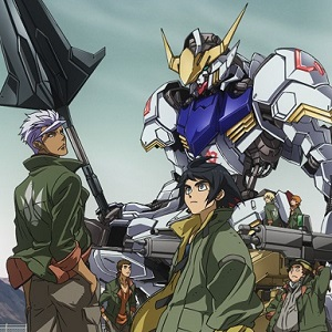 Mobile Suit Gundam: Tekketsu no Orphans – promo e cast