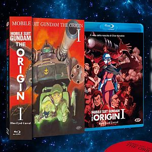 Mobile Suit Gundam - The Origin I: il cofanetto Dynit in DVD e BD