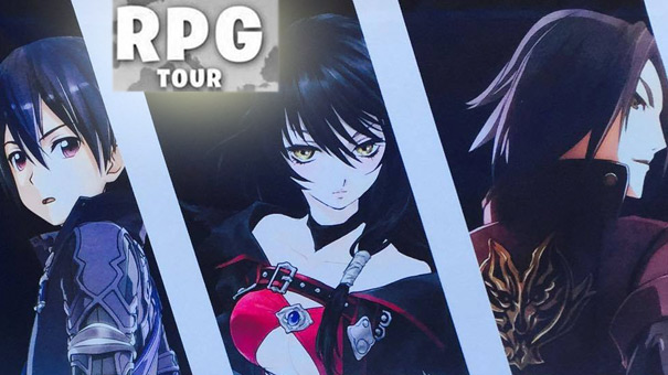 <b>RPG Tour 2016</b> - Conosciamo Tales of Berseria, SAO e God Eater