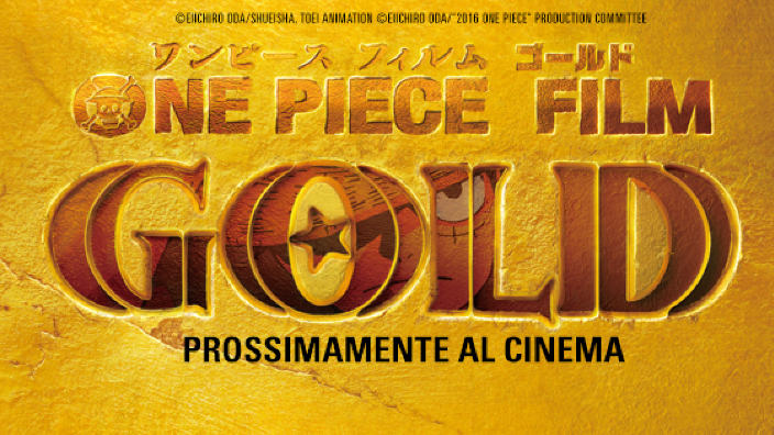 One Piece Film Gold arriverà nei cinema italiani con Koch Media
