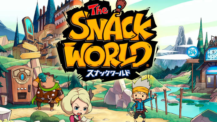 Nuovi trailer per The Snack World, il nuovo titolo cross-IP di Level-5
