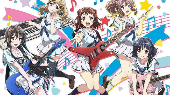 BanG Dream! anime TV per il progetto idol crossmediale