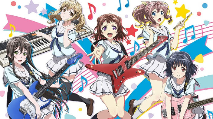 BanG Dream! anime trailer per le giovani idol in erba