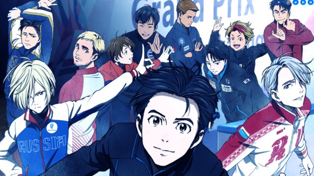 Yuri!! on Ice: al pattinaggio su ghiaccio T. Toyonaga, Jun Fukuyama...