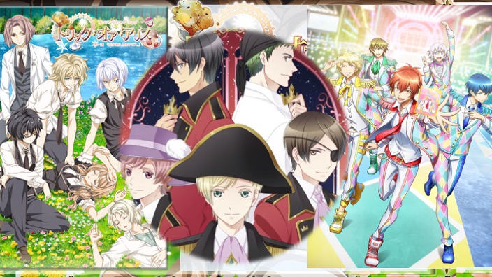 A tutto Bishonen! trailer di: Starmyu, Trick or Alice e Dream Festival!