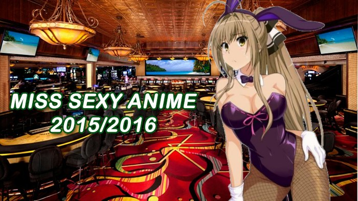 Miss Sexy Anime 2015-16