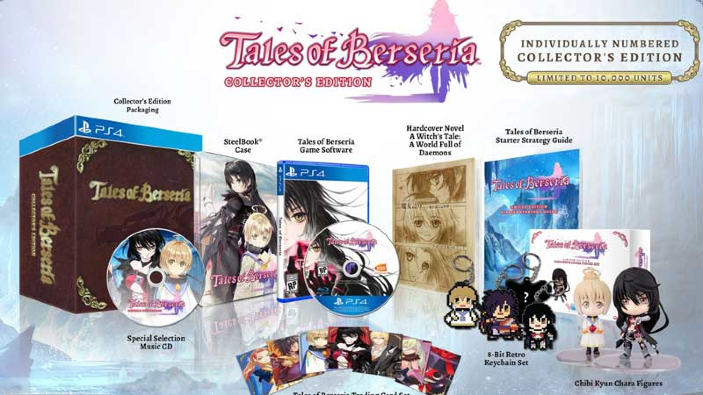 Tales of Berseria - Data d'uscita europea, Collector's Edition