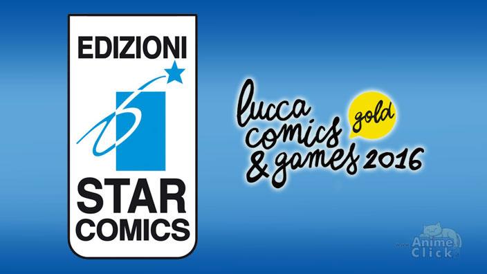 Lucca 2016: Annunci Star Comics