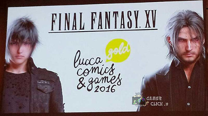 Final Fantasy XV conquista Lucca Comics & Games 2016