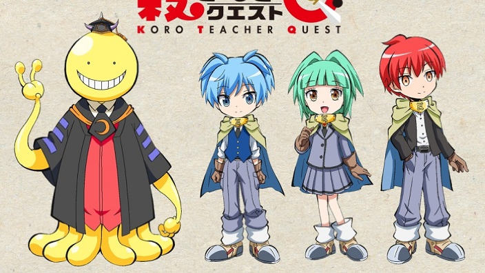 Koro-sensei Q: anche un anime TV per lo spinoff di Assassination Classroom