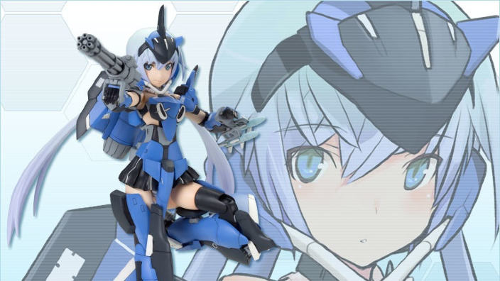 Frame Arms Girl di Kotobukiya: la linea di action figures verrà trasposta in anime nel 2017