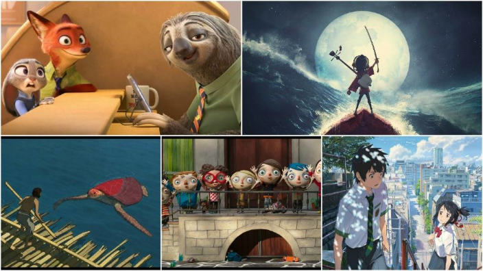 Miss Hokusai, Red Turtle e Your Name di Makoto Shinkai in corsa per gli Annie Awards 2017
