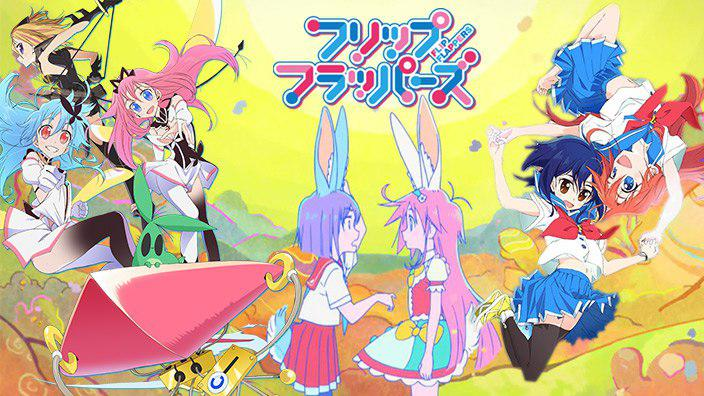 Flip Flappers: recensione anime