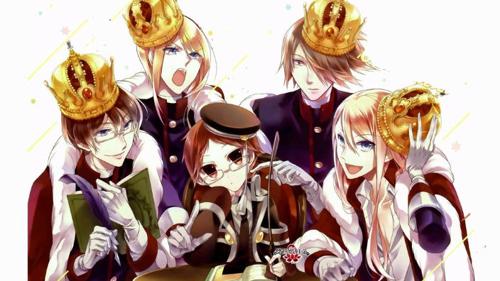 The Royal Tutor: un piccolo-grande uomo per istruire 4 principi viziati, anime trailer