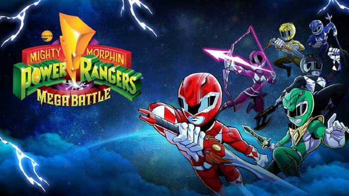 <b>Saban's Mighty Morphin Power Rangers: Mega Battle</b> - Recensione