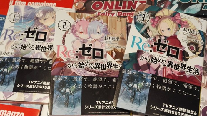 Re:Zero e J-POP: annunciati le novel originali e il manga