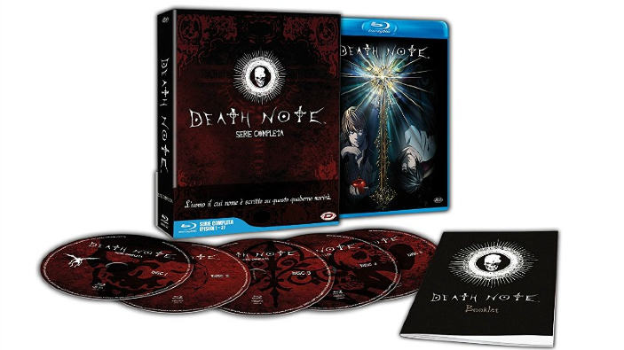 Death Note: unboxing dell'edizione Blu Ray italiana