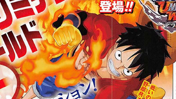 Annunciato One Piece: Unlimited World Red Deluxe per PS4 e Switch