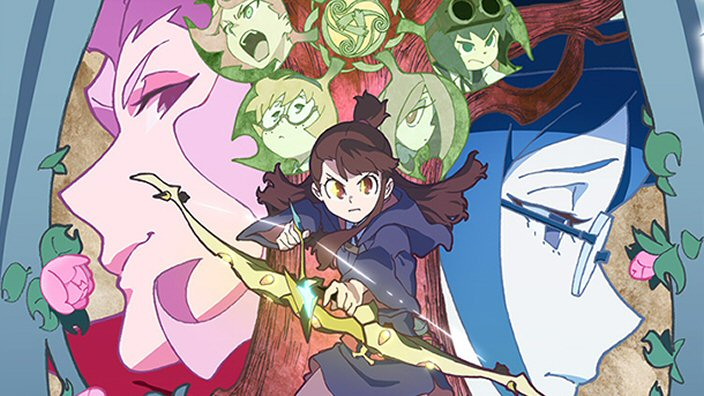 Little Witch Academia: i primi 13 episodi in arrivo su Netflix