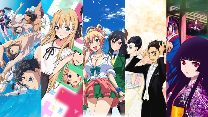 Le novità Anime stagionali per l'Estate 2017
