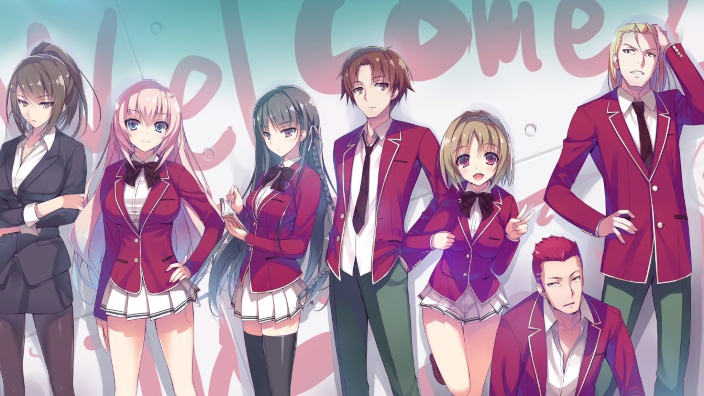 Classroom of the Elite, video per il nuovo anime scolastico estivo
