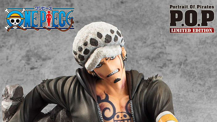 One Piece: ecco la figure di Trafalgar Law P.O.P. Limited Versus by MegaHouse