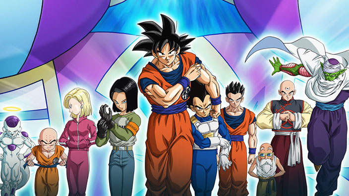 Dragon Ball Super, arrivano le figure del ''Settimo Universo''