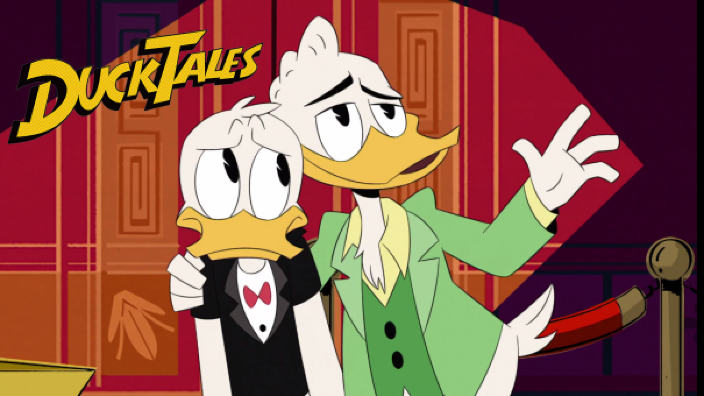<b>DuckTales</b> 1x06 recensione - The House of the Lucky Gander