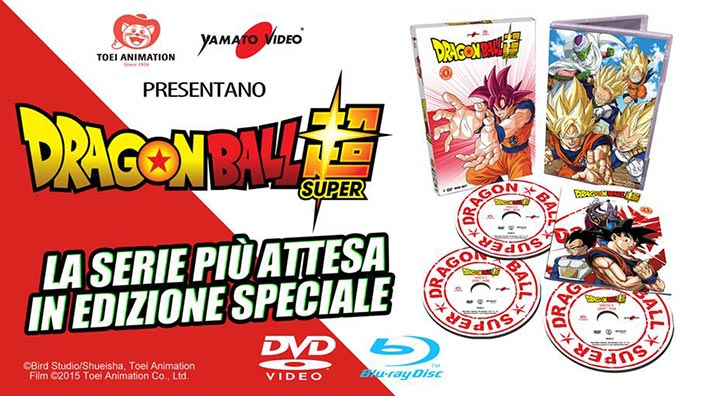 Yamato Video annuncia Dragon Ball Super, anche in Blu-ray