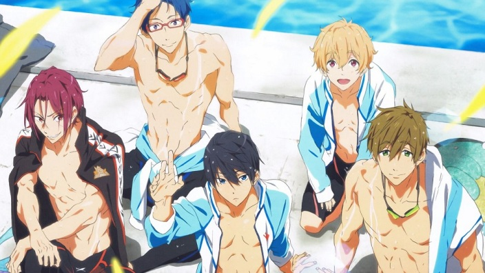 Free! Take your marks: annunciata terza serie anime