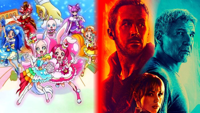 Le Pretty Cure al cinema battono anche Blade Runner