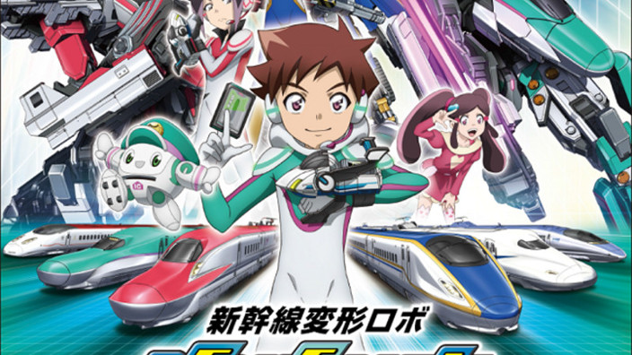 Shinkalion the Animation: Hatsune Miku diventa doppiatrice in una serie anime