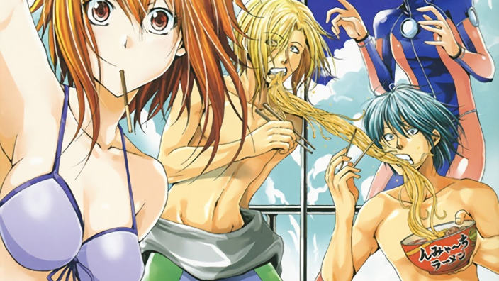 Grand Blue: fugace anime per le immersioni subacquee?