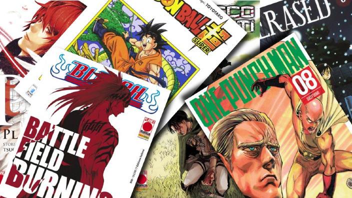 I 50 volumi manga più acquistati dagli utenti di AnimeClick.it nel 2017