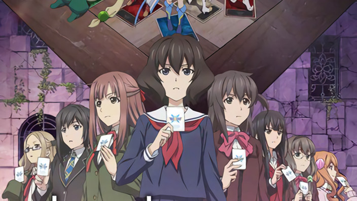 Lostorage conflated WIXOSS, trailer, key visual e data di debutto