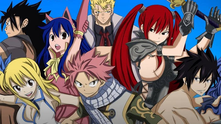 Fairy Tail torna in TV su Rai Gulp dal 21 marzo