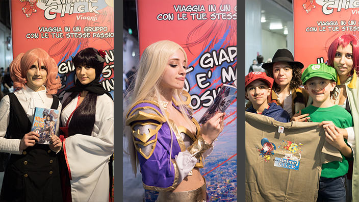Cartoomics 2018: Foto dallo stand di AnimeClick.it (sabato)