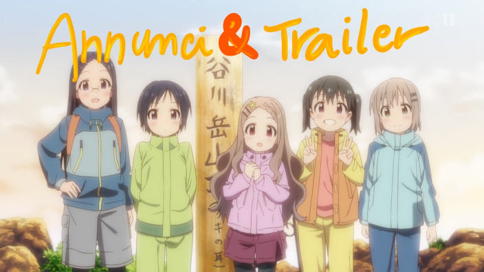 Trailer e annunci! Yama no Susume 3, Lord of Vermilion e Sora to Umi no Aida