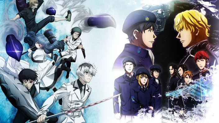 Tokyo Ghoul: Re e The Legend of the Galactic Heroes in Simulcast su VVVVID