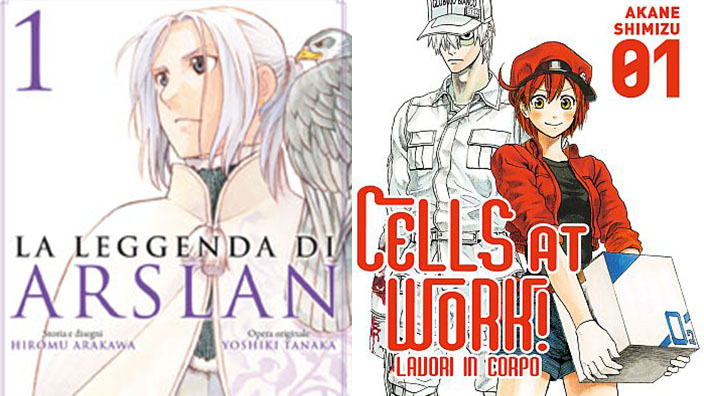 Kodansha Manga Awards 2018: nomination per La leggenda di Arslan e Cells at Work!