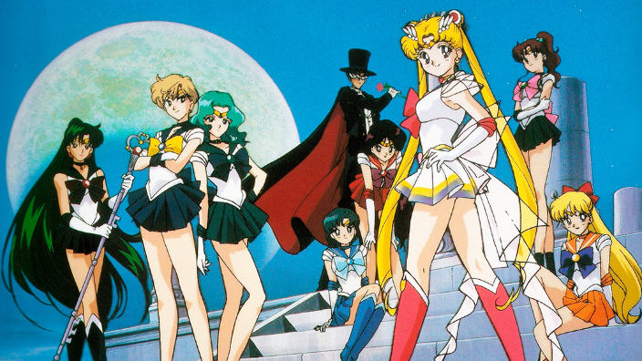 Stilista super fan mostra l'abito nuziale di Sailor Moon